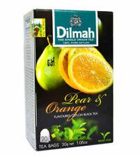 Ceylon Tea pear and orange Flavored Ceylon Black Tea   Dilmah   20 TEA BAGS