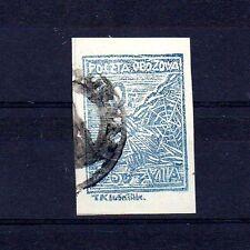POLOGNE Oflag Camp de Murnau Fischer timbre n° 2ax1A oblitéré