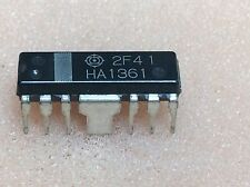 1 pc. HA1361  Hitachi  DIP16  NOS