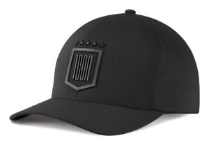 ICON One Thousand 1000 Tech Hat/Cap, 6-Panel FlexFit Curved-Bill (Black) SM-MD