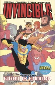 INVINCIBLE TPB VOLUME 2 EIGHT IS ENOUGH NEW PTG / REPS #5 6 7 8