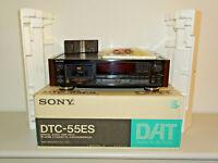 Sony DTC-55ES High-End DAT-Recorder Schwarz, OVP&NEU, 2 Jahre Garantie