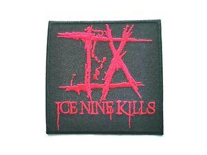 Ice Nine Kills Patch Punk Rock Music Festival Sew or Iron On Badge