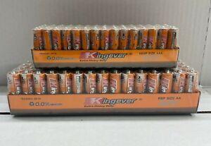 60 AA & 60 AAA Batteries extra Heavy Duty BRAND NEW *SEALED* FREE SHIPPING USA