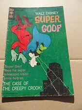 Super Goof (Walt Disney) 8.  Gold Key 1967-  VG