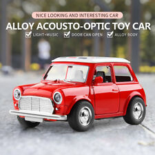 1:38 BMW Alloy Mini Music-Playing Diecast Model Car Metal Pull Back Decor Toy