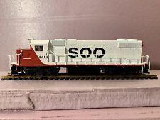 Soo Line HO Scale Atlas Trainman GP38-2 Powered Locomotive
