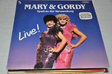 Mary & Gordy (Live) - Spass an der Verwandlung - Travestie 80er - Album Vinyl LP
