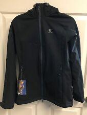 Salomon Women's Snow Flirt Jacket (M) Black   $220 New with Tags  S-50