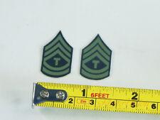 1:6 Figure US Infantry 1st Technical Sergeant Badge Emblem Patch INSIGNIA DA266
