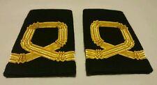 Sea Cadet Corps Sub Lieutenant Gold RNVR Epaulettes Slides SCC