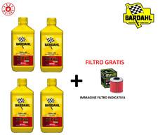 QUATTRO LITRI OLIO MOTORE + FILTRO OLIO HONDA CBX F (RC17) 750 84/86