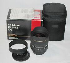 Sigma 12-24mm f/4.5-5.6 DG HSM EX Lens Sigma SA fit