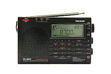 TECSUN PL660 (black) PLL Fm/stereo MW LW SW SSB Air Band English Version
