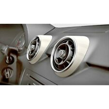 GENUINE AUDI A1 COMPETITION LEGENDS WHITE 4 PIECE AIR VENTS COVERS TRIM KIT