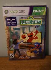 New! Kinect Sesame Street (XBOX 360) US Retail Version! Sealed!