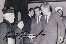 Ken Giannoules Signed 4x6 Inch Photo JFK Secret Service Dealey Plaza LBJ Dallas