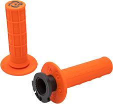 TORC1 MX Defy Lock On Grips 4 Stroke Orange 3750-0502