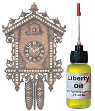 The best 100% Synthetic Oil for lubricating your clocks. Made in U.S.A.