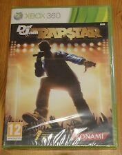 DEF JAM RAPSTAR XBOX 360 RAP HIP-HOP KARAOKE SINGING SOLUS GAME new & sealed!
