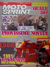 Motosprint 7 1991 Ecco la Cagiva per Eddie Lawson. Yamaha FRZ 600, Yamaha TDM850