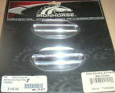 IRONHORSE AXLE COVERS BALL MILLED OUTLAW / LEGEND