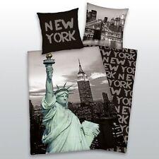 Linge de lit Herding New York Empire état microfibre 135 x 200 Neuf WOW