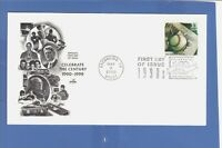 FIRST DAY ISSUE  NEW BASEBALL RECORDS 33 CENT STAMP FDC