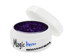 UV GEL 5 ml GLITTERGEL GLITTER PURPLE 24