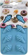 Silicone Chocolate Mold 2/Pkg-Ice Cream Cone -05118695
