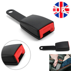 Universal 15 cm Long Flat Plate Seat Belt Buckle End FREE NEXT DAY DELIVERY UK M