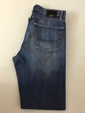 "Hugo Boss Jeans da uomo Scout, W32"" L32"" Denim blu, in buonissima condizione"