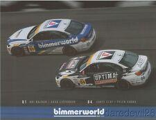 2017 bimmerworld BMW 328i ST IMSA CTSC postcard