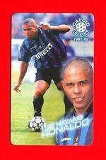 CALCIO CALLING 1997-98 Panini 1997 - Card n. 44 - RONALDO - INTER -New