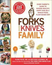The Forks over Knives Family by Matthew Lederman & Alona Pulde (2016, Hardcover)