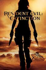 Resident Evil EXTINCTION Orig Poster MILLA JOVOVICH 4'x6'Rare 2007