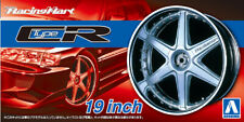Aoshima 1:24 Scale Model Wheel/Tyres Racing Hart CR 19'' Accessory Set #263