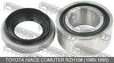 Ball Bearing For Front Drive Shaft 36.2X67X29 For Toyota Hiace Comuter Rzh10#