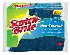 Scotch-Brite 526 Non-Scratch Sponge - 6 Pieces, Blue