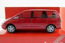 Herpa 021845 VW Sharan I (1995-2000) in rubinrot 1:87/H0 NEU/OVP