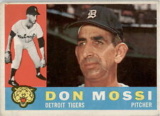 1960 Topps 418A Don Mossi White Back VG #D331925