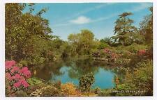 "Postcard  "" Dingle Gardens, Shrewsbury "".  Not posted."