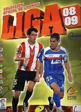 liga este 2008/2009 465cromos 13 fichajes