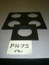 """Delta 1 Bes-Board 2 5/8"""" x 2 5/8"""" Lens Board with 39mm Hole  for Beseler"""