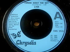 "LINX - THROW AWAY THE KEY      7"" VINYL"