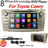 "8"" Car DVD Player GPS NAV Radio Stereo Head Unit BT USB for Toyota Camry 2007-11"
