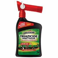 Spectracide Triazicide Insect Killer Lawns Landscapes Concentrate Ready-to-Spray