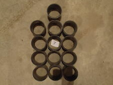 """HUGE  3"""" BLACK PVC  PIPE FITTING CONNECTOR LOT 13 PC. LOT #7 SEWER DRAIN PIPE"""