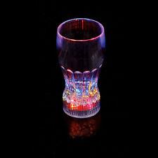 New LED Bar Glass Flashing Light Up Glow Party Barware