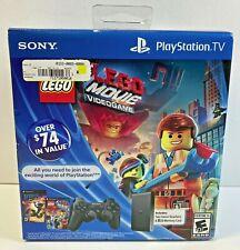 Sony PlayStation TV Vita VTE-1001 Lego Movie Game Bundle w/ Dualshock 3 8GB Card